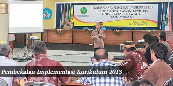 Pembekalan Implementasi Kurikulum 2013